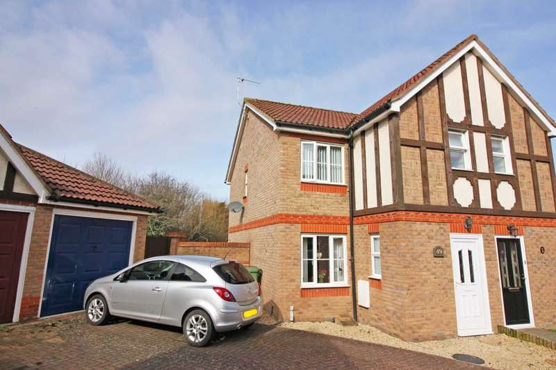 2 Bedrooms Semi Detached House for sale in Bowmont Water, Didcot