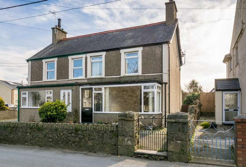 2 Bedrooms Semi Detached House for sale in Morfa Nefyn, Pwllheli, North Wales