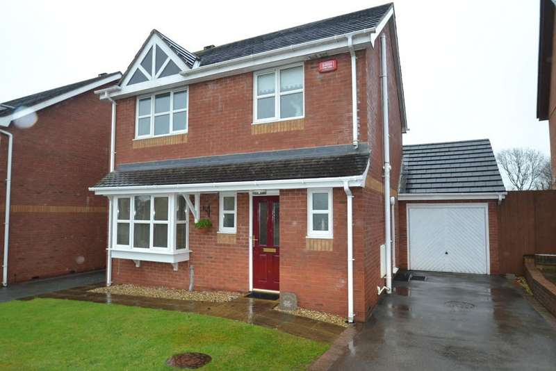 3 Bedrooms Detached House for sale in Bro Caerwyn, Llangefni, North Wales
