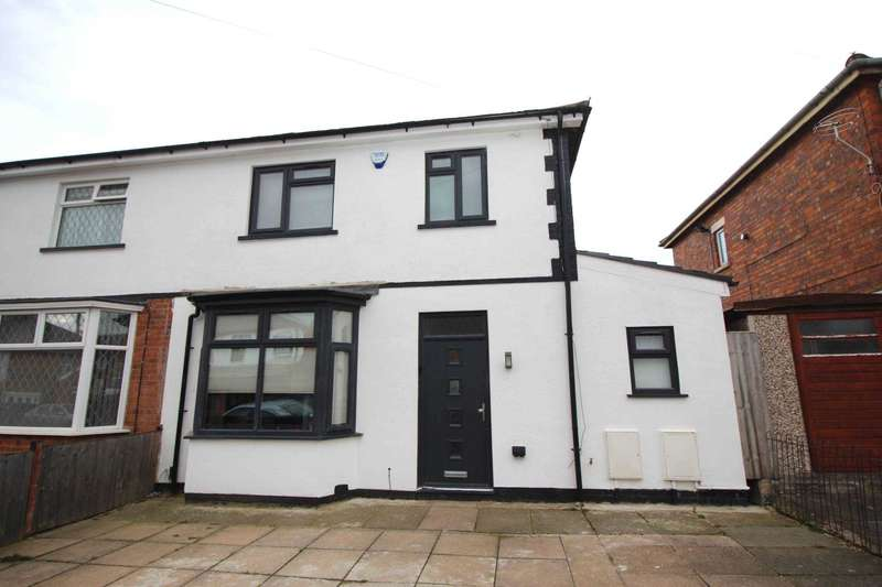 3 Bedrooms Semi Detached House for sale in Sherwood Street, Evington