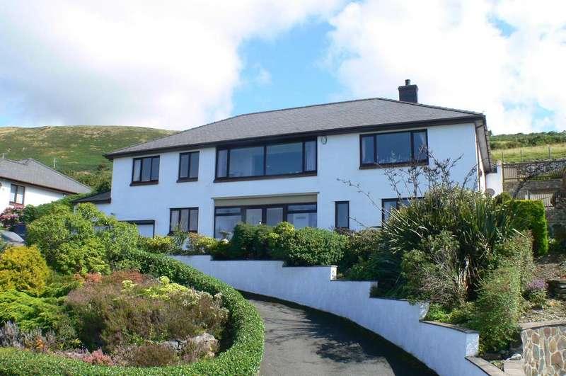 4 Bedrooms Detached House for sale in Stad Gwastadgoed Isaf, Llwyngwril, Gwynedd