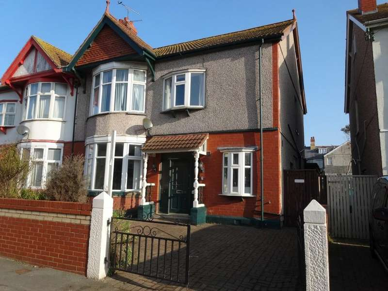 5 Bedrooms Semi Detached House for sale in Palace Avenue, Rhyl