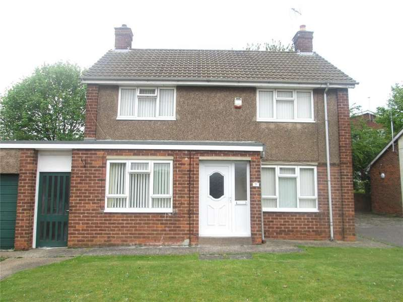 3 Bedrooms Detached House for sale in Blythe Close, Mansfield, Nottinghamshire, NG19