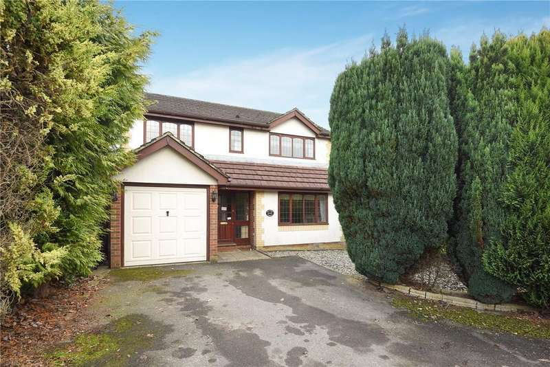 4 Bedrooms Detached House for sale in Primrose Gardens, Hatch Warren, Basingstoke, Hampshire, RG22