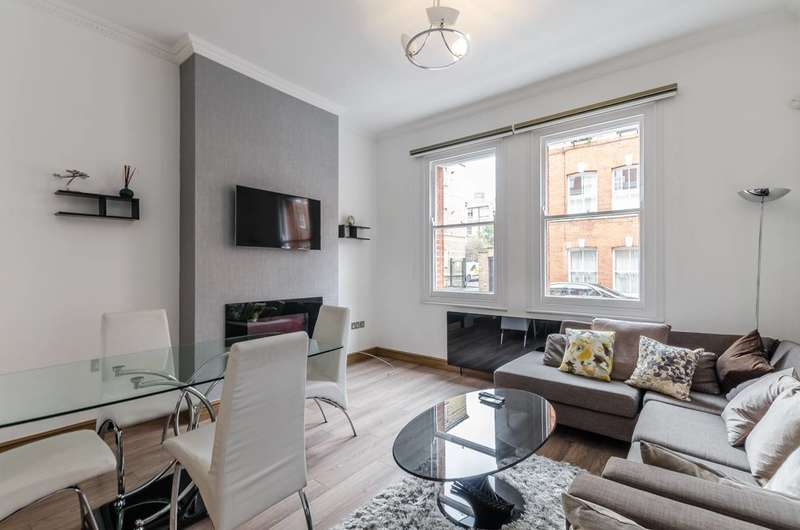 2 Bedrooms Flat for sale in Kings Mansions, Lawrence Street, Chelsea, SW3
