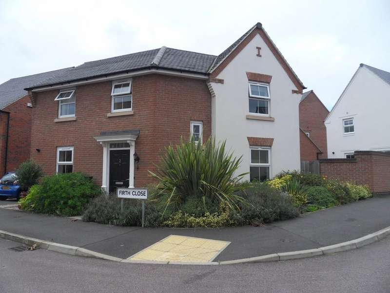 3 Bedrooms Detached House for sale in Firth Close, East Leake, Loughborough