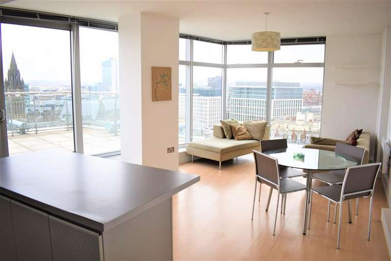 2 Bedrooms Apartment Flat for sale in Great Northern Tower, 1 Watson Street, Manchester, M3 4EF