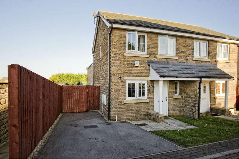 2 Bedrooms Semi Detached House for sale in Highfield Chase, Dewsbury, West Yorkshire, WF13