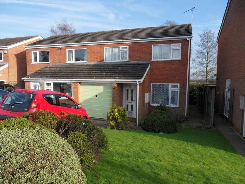 3 Bedrooms Semi Detached House for sale in Astley Road, Earl Shilton
