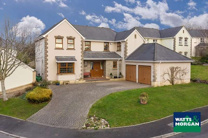 5 Bedrooms Detached House for sale in Vale Court, Cowbridge, Vale of Glamorgan, CF71 7ES