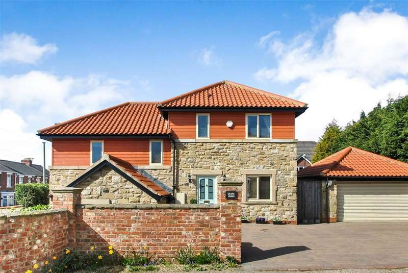 4 Bedrooms Detached House for sale in South Street, Newbottle, Houghton le Spring, DH4