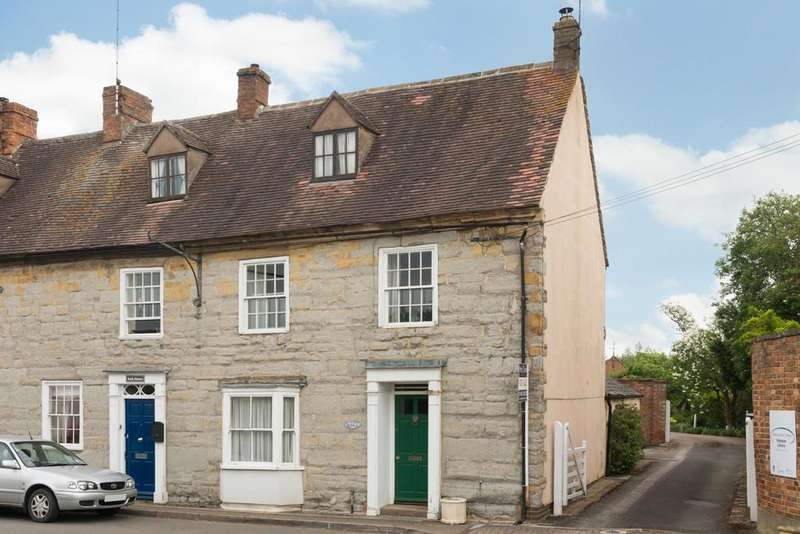 4 Bedrooms End Of Terrace House for sale in Church Street, Shipston-On-Stour