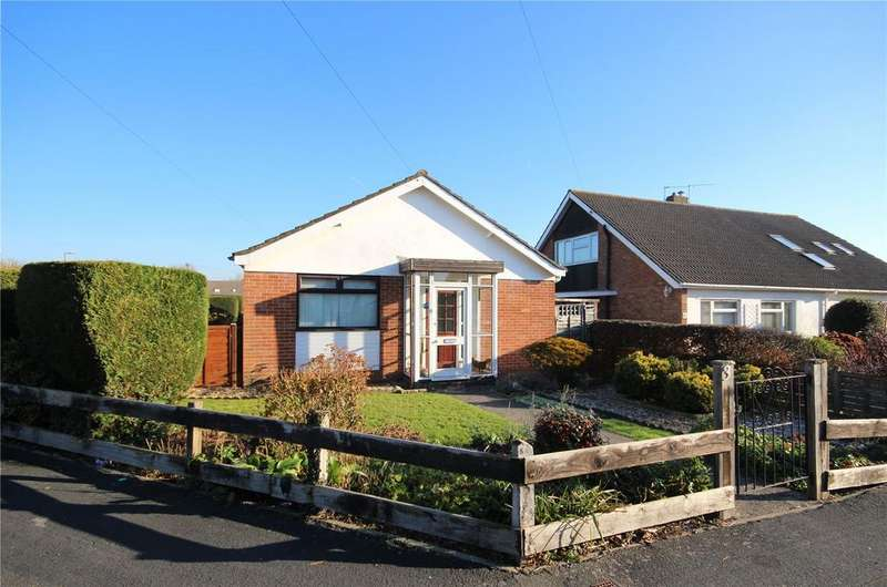 2 Bedrooms Detached Bungalow for sale in Bourton Close, Stoke Lodge, Bristol, BS34
