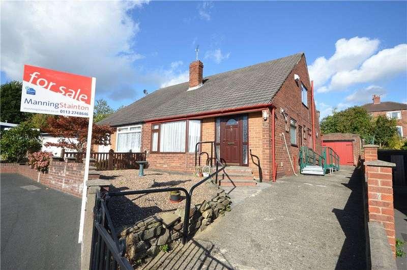 3 Bedrooms Semi Detached Bungalow for sale in Eden Gardens, Leeds, West Yorkshire