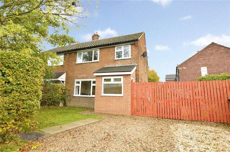 3 Bedrooms Semi Detached House for sale in Belle Vue Avenue, Scholes, Leeds, West Yorkshire