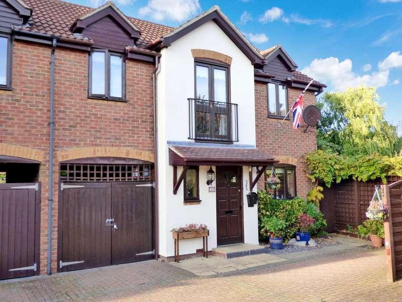 3 Bedrooms Link Detached House for sale in Blacksmiths Court, Marston Moretaine, MK43 0BX