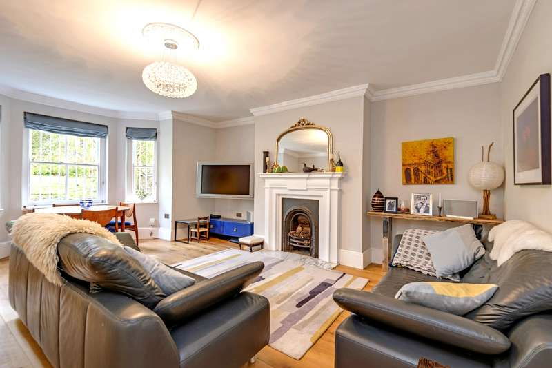 3 Bedrooms Flat for sale in Priory Terrace, South Hampstead