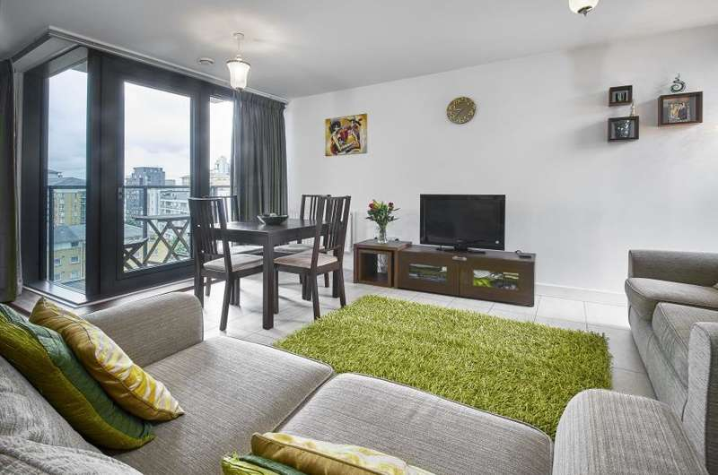 2 Bedrooms Apartment Flat for sale in Proton Tower, London, E14