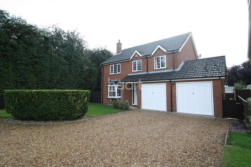 4 Bedrooms Detached House for sale in Sutton St Edmund