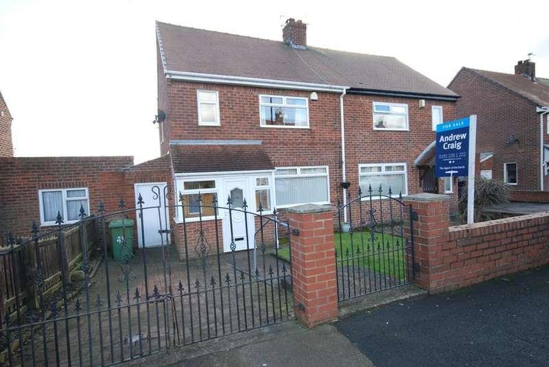 2 Bedrooms Semi Detached House for sale in Rydal Mount, Castletown