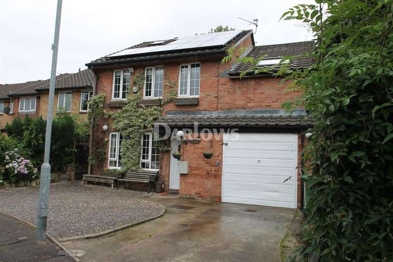 4 Bedrooms Detached House for sale in Sanderling Drive, St Mellons, Cardiff