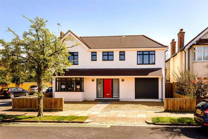 4 Bedrooms Detached House for sale in York Avenue, Windsor, Berkshire, SL4