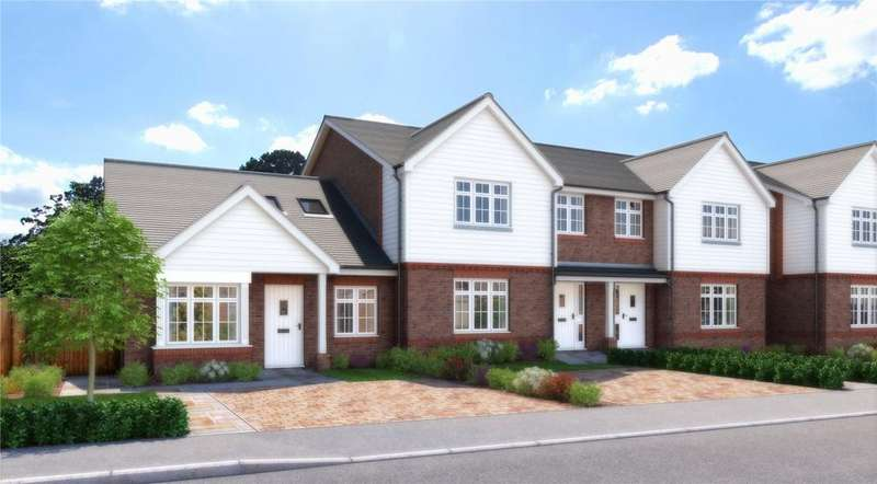 3 Bedrooms End Of Terrace House for sale in Eden Place, Grange Close, Edenbridge, Kent, TN8