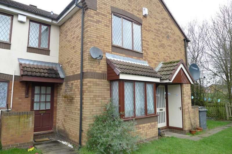 1 Bedroom Ground Flat for sale in Edensor Close, Springfield, Wolverhampton
