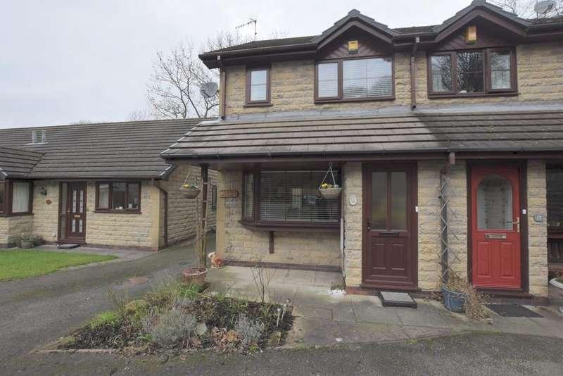 2 Bedrooms Semi Detached House for sale in Woodbrook, Whaley Bridge, High Peak