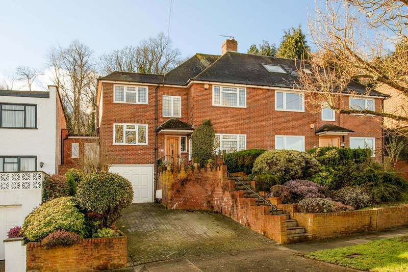 4 Bedrooms Semi Detached House for sale in Ullswater Crescent, London, SW15