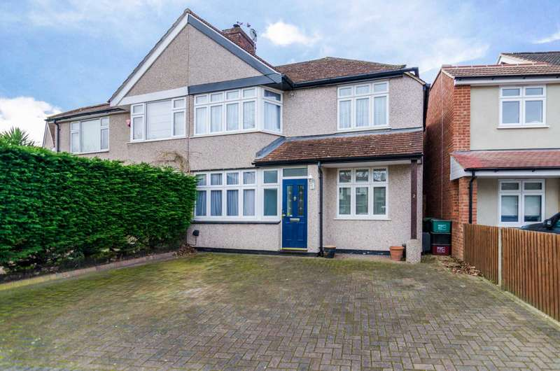 3 Bedrooms Semi Detached House for sale in Chaucer Road, Sidcup, DA15 9AR