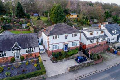 4 Bedrooms Detached House for sale in Handley Road, New Whittington, Chesterfield, Derbyshire