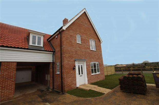 3 Bedrooms Link Detached House for sale in Stoke Holy Cross, Norwich, Norfolk