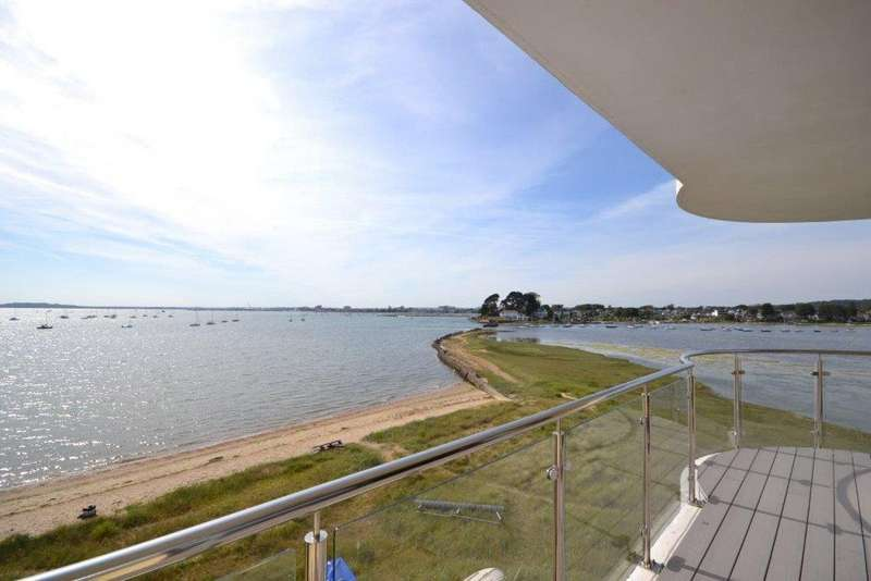 3 Bedrooms Flat for sale in Salterns Way, Lilliput, Poole, BH14