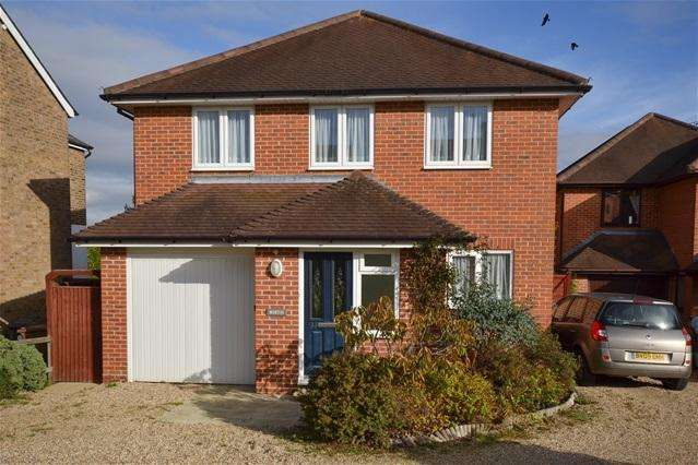 4 Bedrooms Detached House for sale in Mount Pleasant, Hertford Heath
