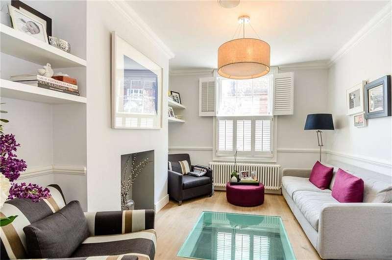 3 Bedrooms Terraced House for sale in Batchelor Street, Islington, London, N1
