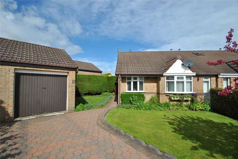 2 Bedrooms Semi Detached Bungalow for sale in Yarmouth Close, Dalton Grange, Seaham, SR7