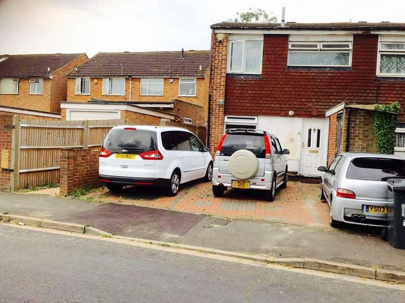 3 Bedrooms End Of Terrace House for sale in Burgett Road, Slough