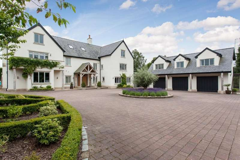 6 Bedrooms Detached House for sale in Netherfield House, Nursery Lane, Nether Alderley, SK10 4TX