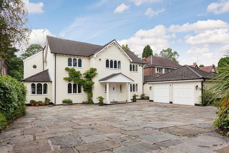 5 Bedrooms Detached House for sale in Carrwood Road, Bramhall