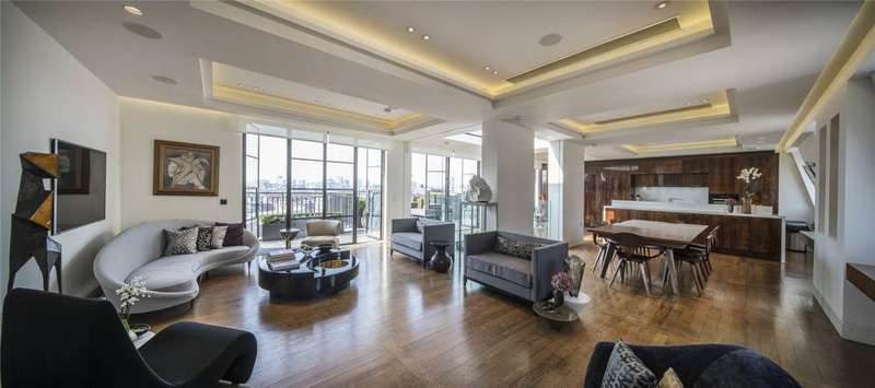 4 Bedrooms Penthouse Flat for sale in Portland Place, Marylebone, London, W1B