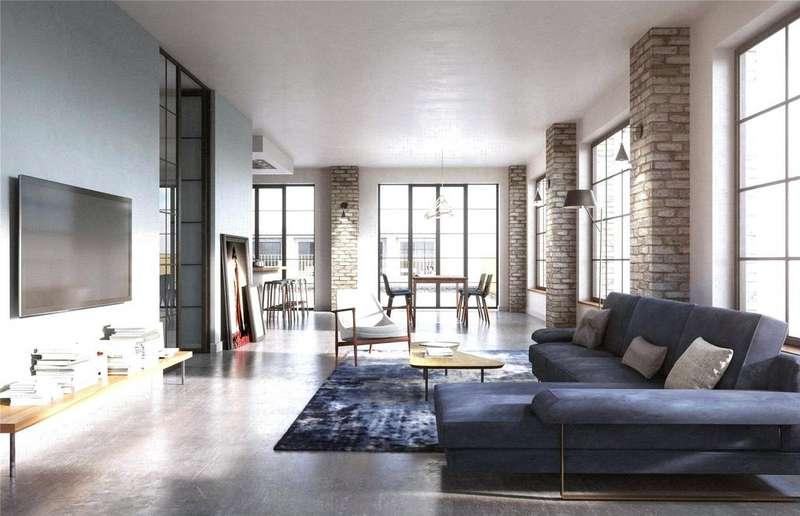 2 Bedrooms Flat for sale in St John's Quarter, South Village, Block 404, Manchester, M3