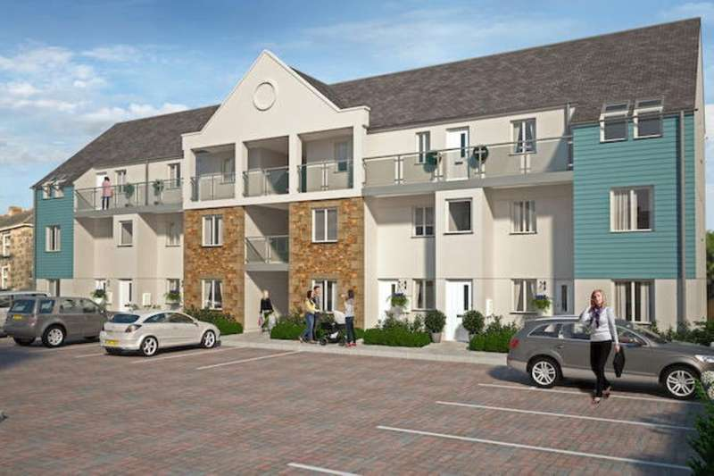 2 Bedrooms Flat for sale in Chapel Walk Mews, North Parade North Parade, Camborne, TR14