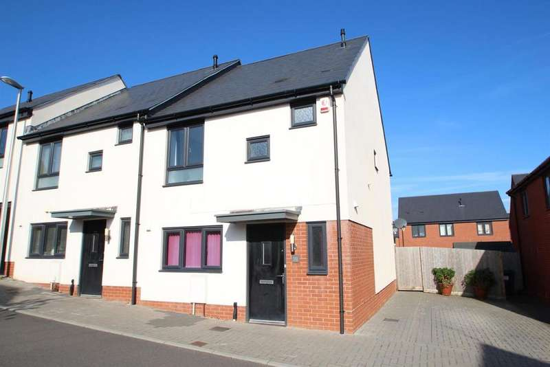 3 Bedrooms Semi Detached House for sale in Exminster