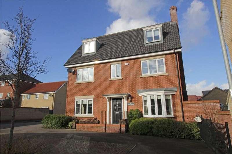 5 Bedrooms Detached House for sale in School Avenue, Laindon, Essex, SS15