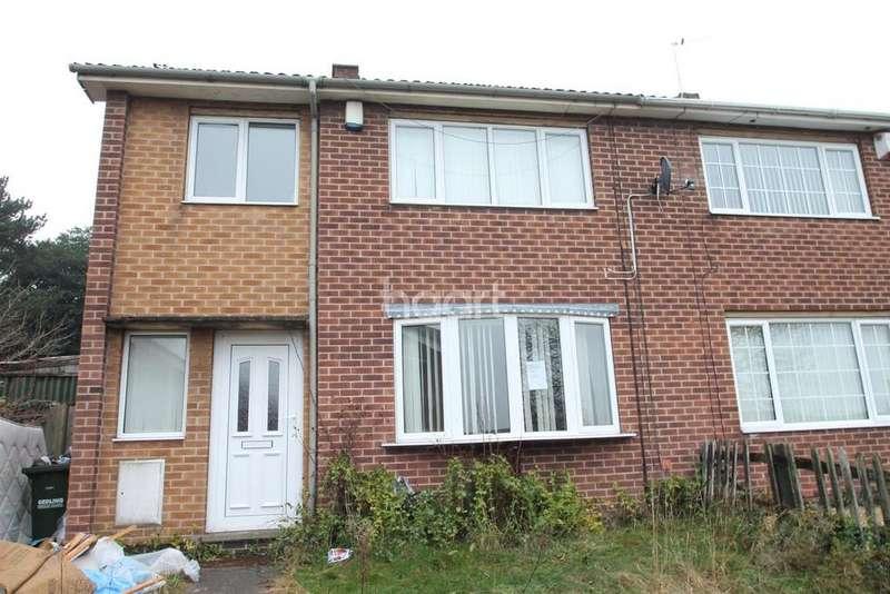 3 Bedrooms Semi Detached House for sale in Hanworth Gardens, Arnold, Nottingham