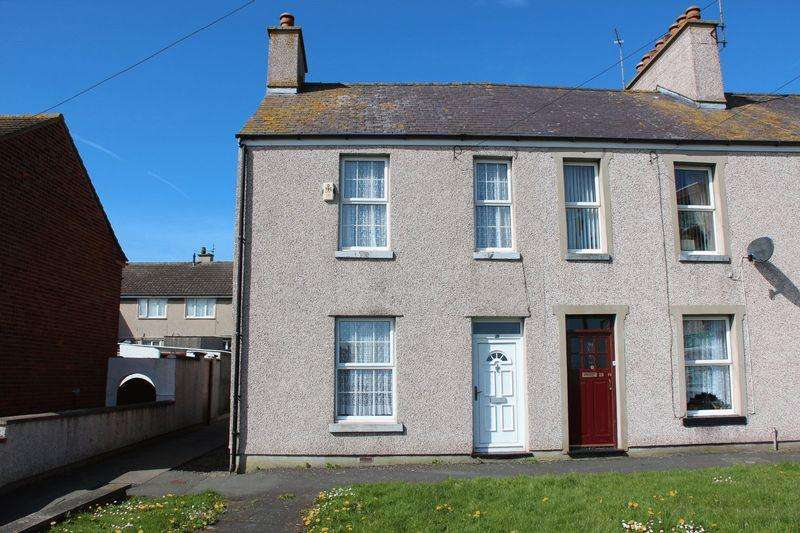 3 Bedrooms End Of Terrace House for sale in Queens Park, Holyhead