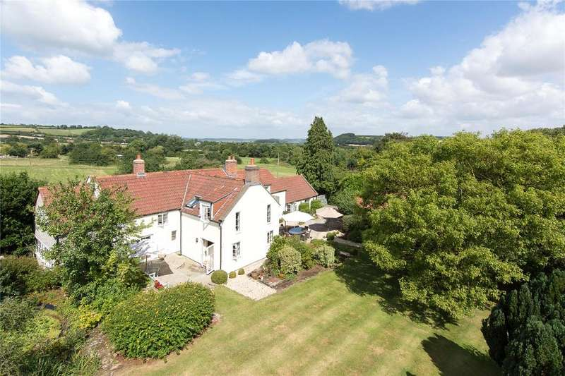 4 Bedrooms Detached House for sale in Low Ham, Langport, Somerset, TA10