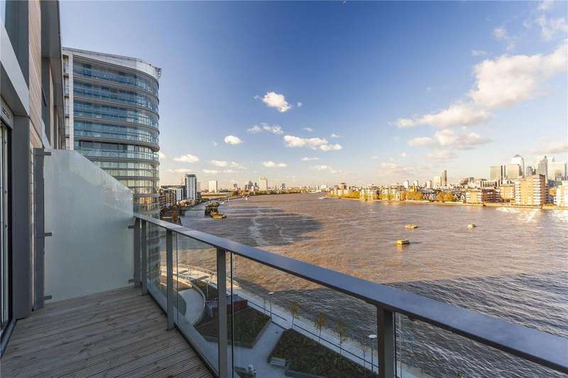 2 Bedrooms Flat for sale in Canary View, Dowells Street, Greenwich, London, SE10