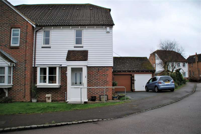 1 Bedroom Semi Detached House for sale in CHURCH FARM CLOSE, HOO ST. WERBURGH